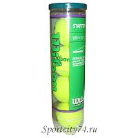 Мячи теннисные WILSON Starter Play Green Ball WRT137400 4ball