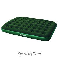 Матрас надувной Bestway Flocked Air Bed Queen 67449