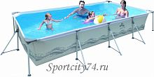 Бассейн Jilong Restangular Steel Frame Pools JL017442NG
