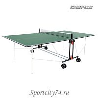 Стол теннисный Donic Indoor Roller Sun Green