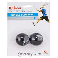 Мяч для сквоша Wilson Staff Blue WRT617500